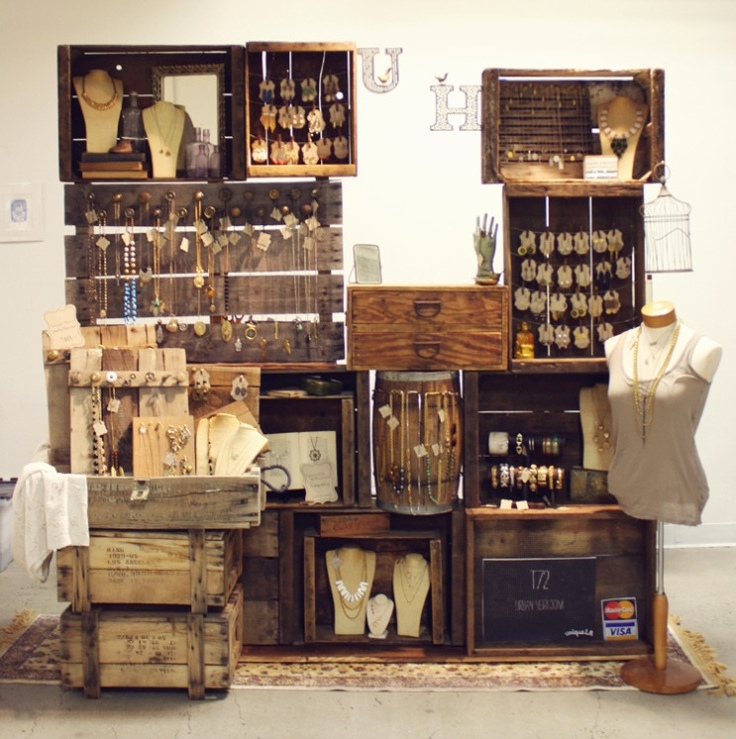 10 x inspiratie voor fruitkisten roest wonen for How to display wood signs at craft show