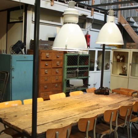 Industri le mijnlamp roest wonen for Kleine industriele hanglamp
