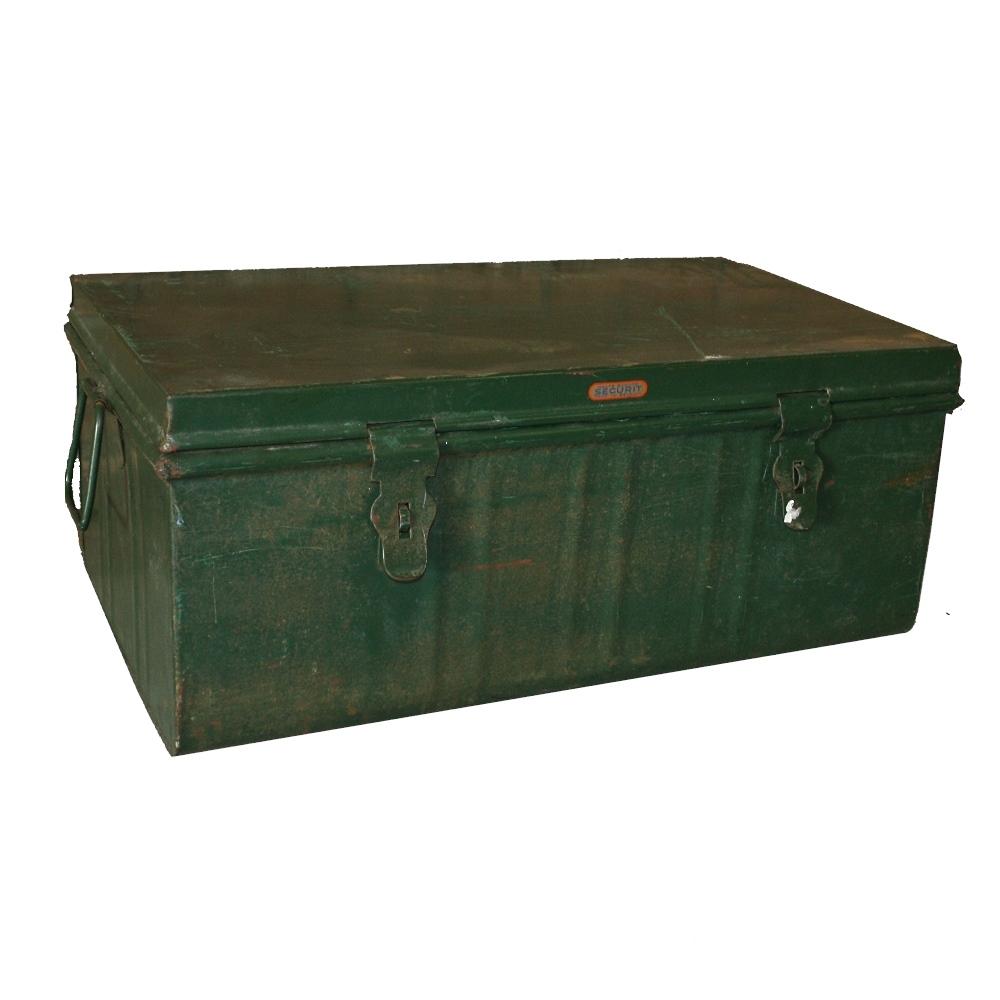 oude kist groen roest wonen. Black Bedroom Furniture Sets. Home Design Ideas
