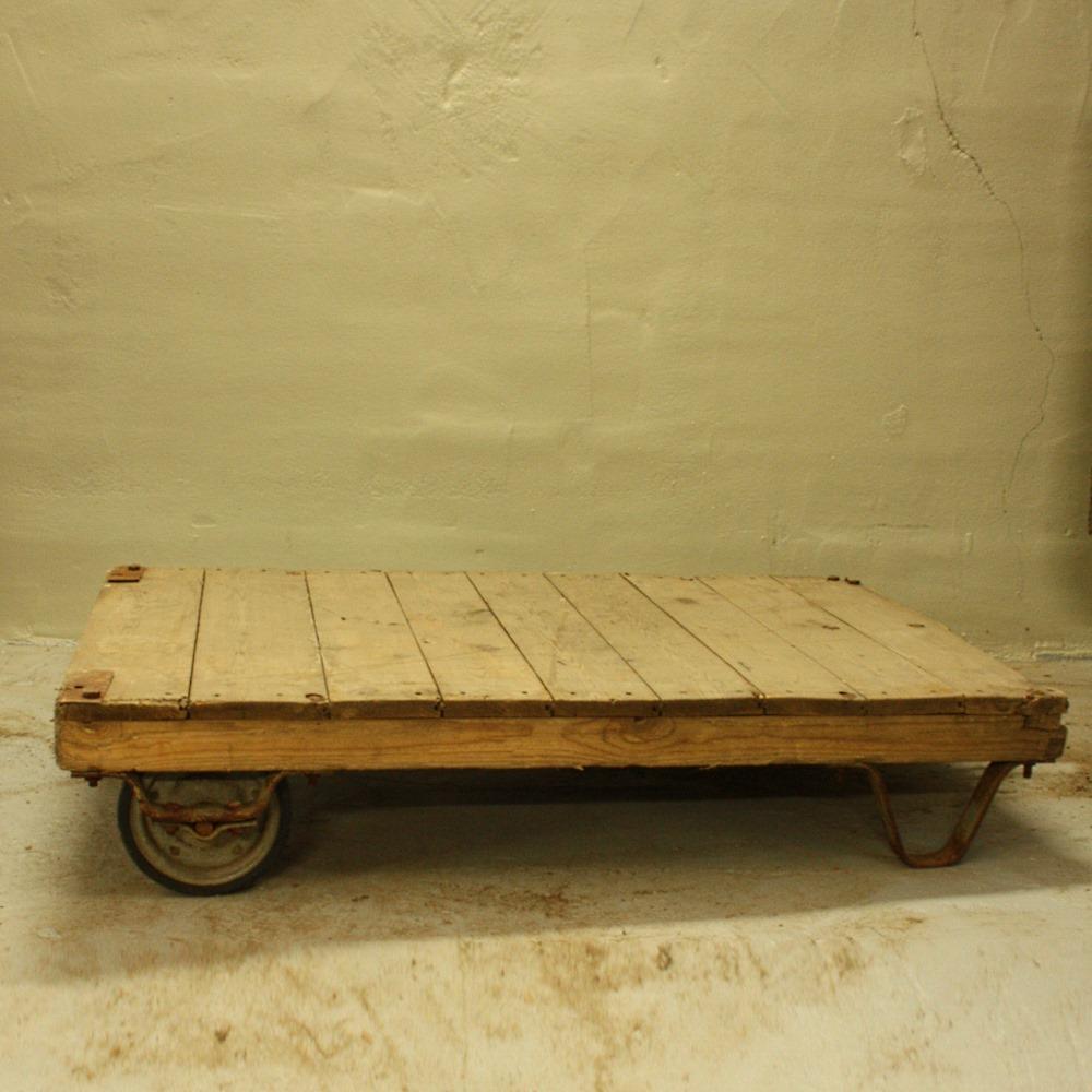Voorkeur Industriële pallettafel hout - Roest Wonen BN27
