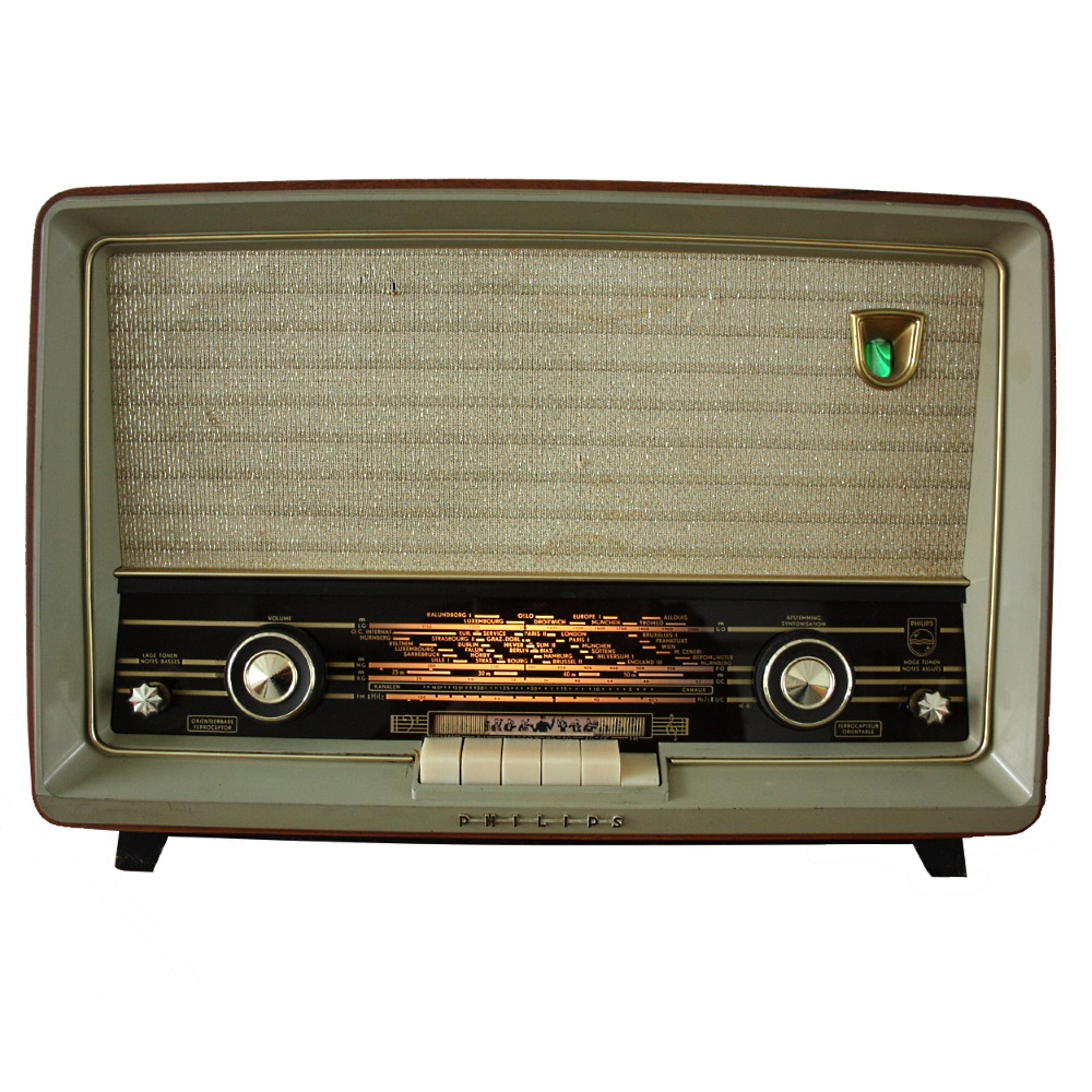 Buizen radio Philips